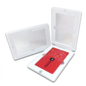 Transparent PP box for credit card USB