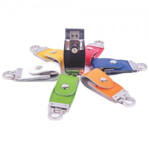 PU Leather Pen Drive . PU-002