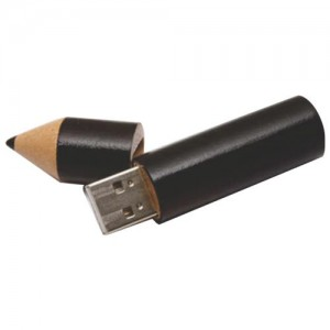 Wooden Pencil USB Flash Drive . WD-011