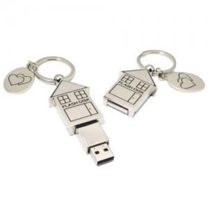 House Shape USB flash drive .UN-012