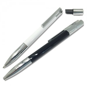 Metal pen with USB flash drive on the tip, pen drive malaysia, syarikat pen drive malaysia, pemborong pen drive malaysia