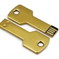 Chrome Key Shape USB Flash Drive