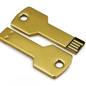 Chrome Key Shape USB Flash Drive