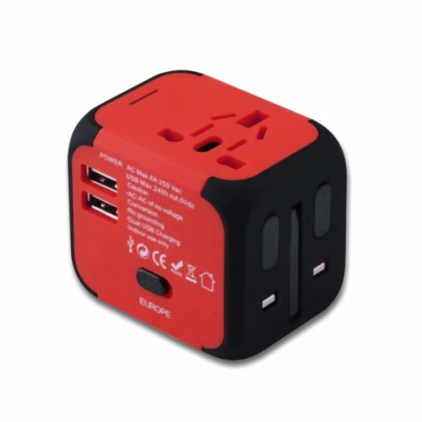 Travel Adapter, Dual USB Adapter
