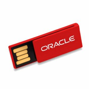 Mini Clip USB Flash Drive V1-Red