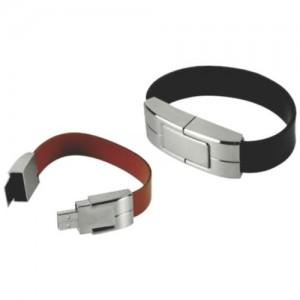 PU Bracelet USB Flash Drive . BR-007