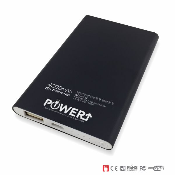 Power Bank Supplier Malaysia - Black 4200mAh