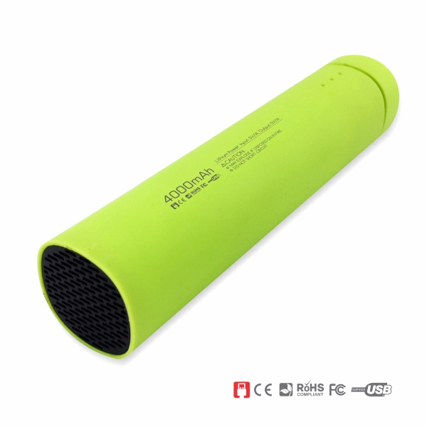 Power Bank Speaker and Stand - Green