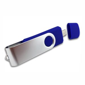OTG Swivel USB-OTG001 – Blue
