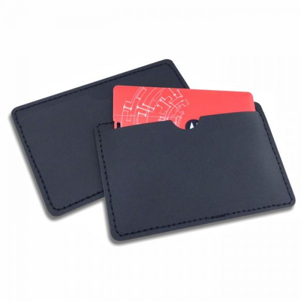 PU leather pouch, card pouch