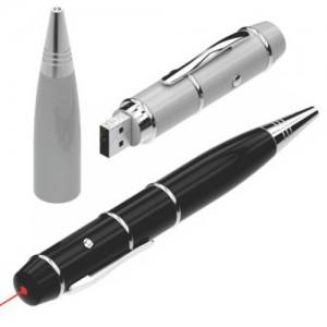 Laser pointer pen drive