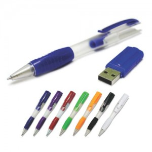 Plastic Pen USB Flash Drive