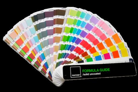 Pantonce chart, pantone code, colour code