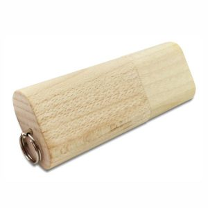 Wooden Cap USB Flash Drive- Side View – Easydrive