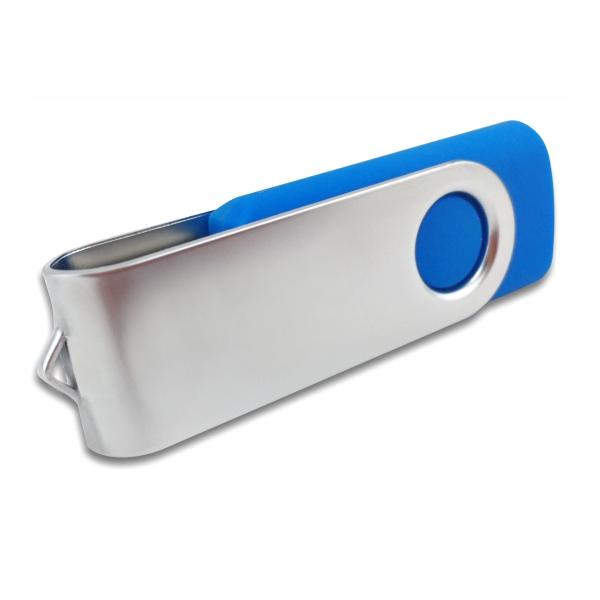Swivel Pen Drive Blue Colour