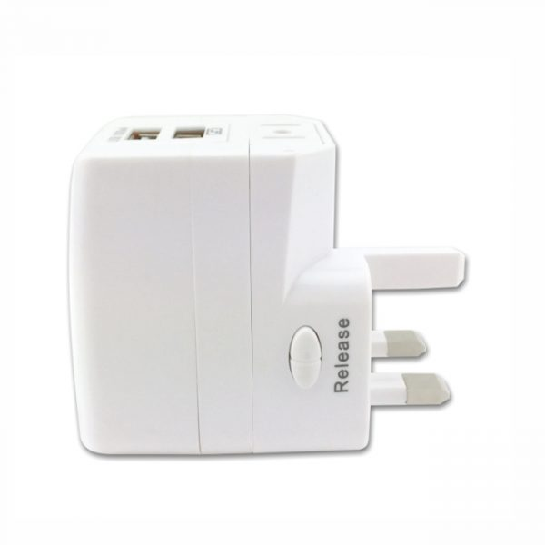 Dual USB Adapter 4- Side View