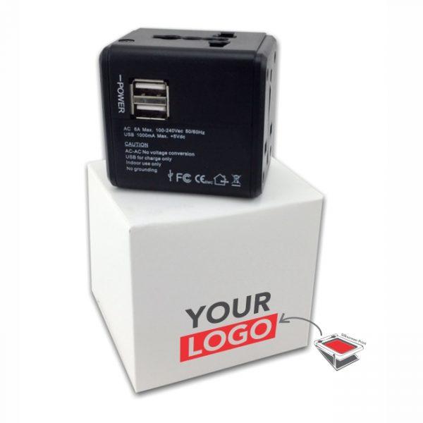 Dual USB Adapter-Logo
