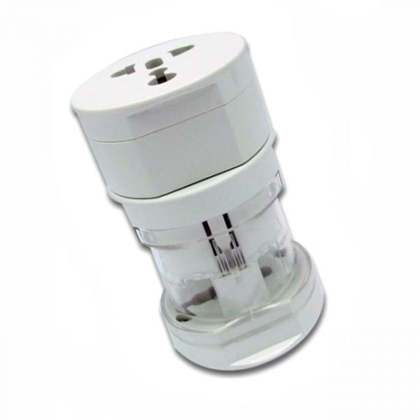Vertical Travel Adapter-White