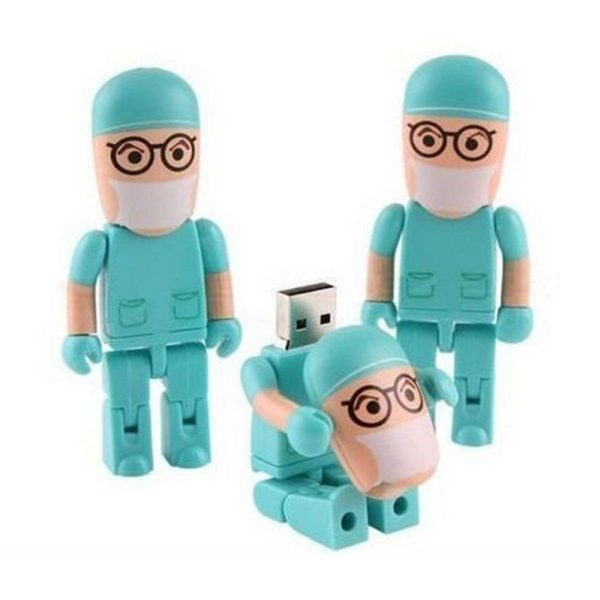 Uniform USB Flash Drive, Doctor USB Flash Drive