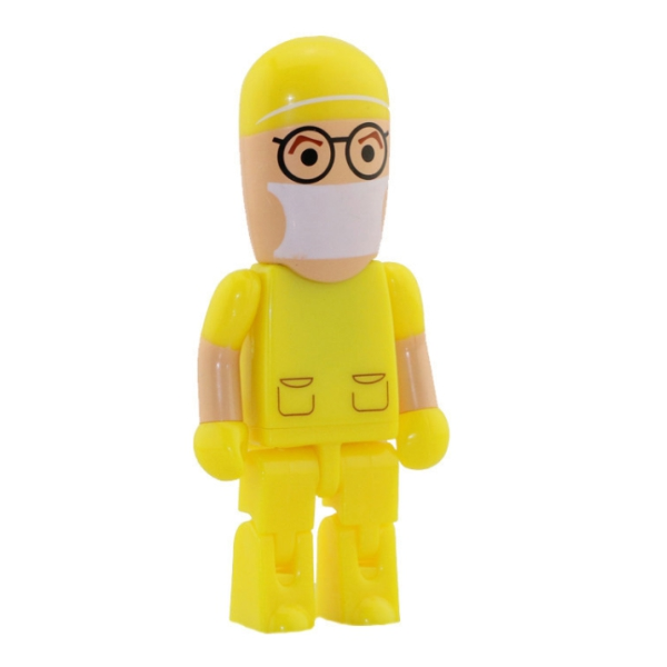 Yellow Uniform USB