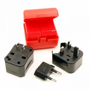 Detachable Travel Adapter-Open