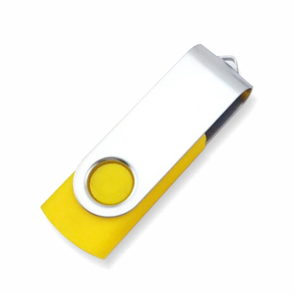 Swivel USB - Yellow