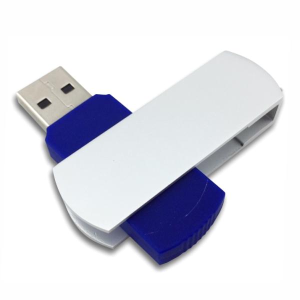Flip USB Metal - Blue