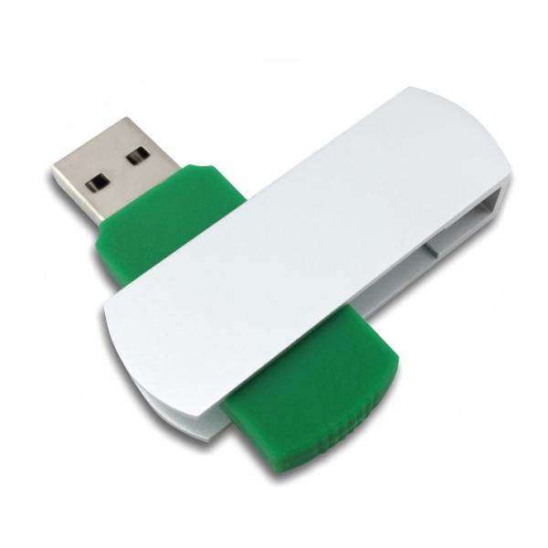Flip USB Metal - Green