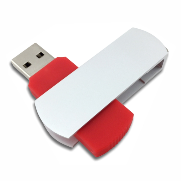 Flip USB Metal - Red