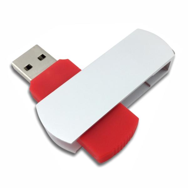 Flip USB Metal - Red