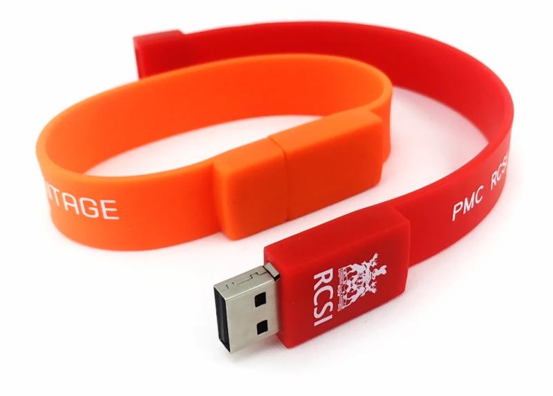Wristband USB Flash Drive, Silicone Wrist Pen Drive