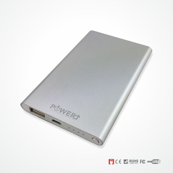 Power Bank Malaysia - Silver Colour