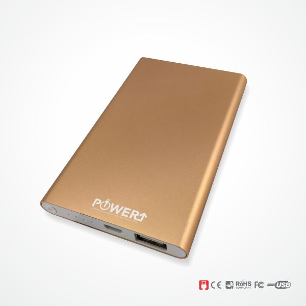 Power Bank Malaysia in Bronze Colour