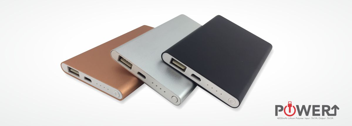 Premium quality power bank with high capacity