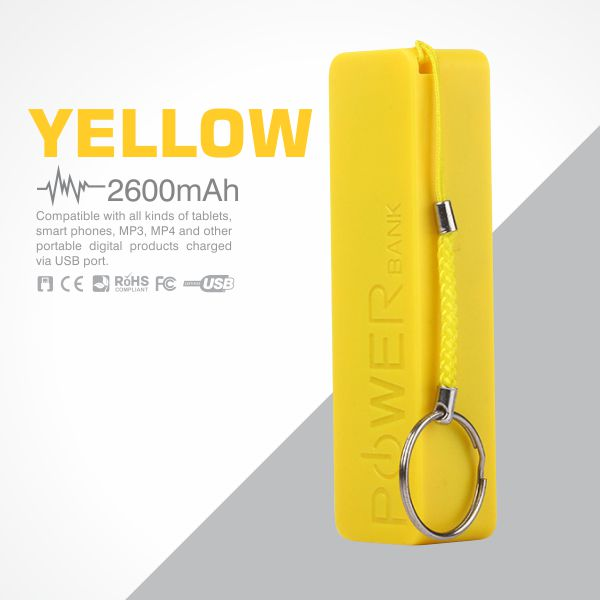 Perfume Power Bank 2600mAh -Yellow from Easydrive Malaysia
