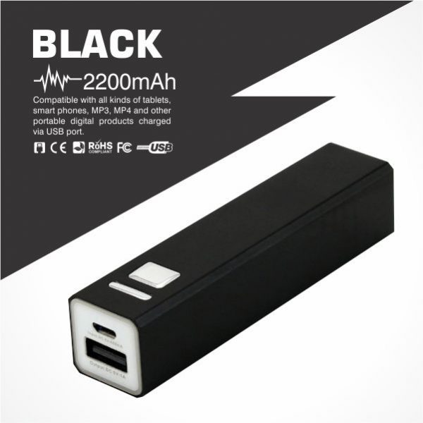 Power Bank Supplier Malaysia in a tube shaped