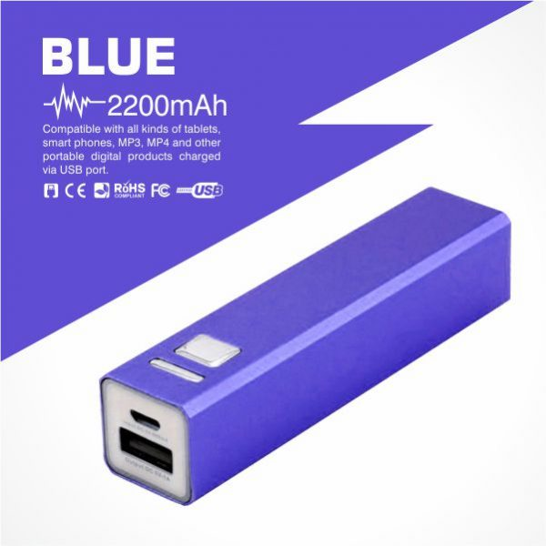 Promotional power bank of 2200mAh from Easydrive Malaysia