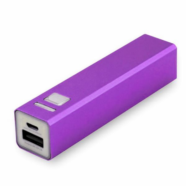 Tube Power Bank in Purple Colour from Easydrive Malaysia
