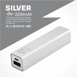 Tube Power Bank-Silver Malaysia