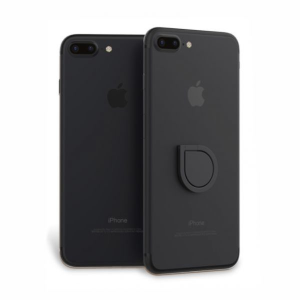 Water Shape Phone Ring - Matte Black From Easydrive Malaysia