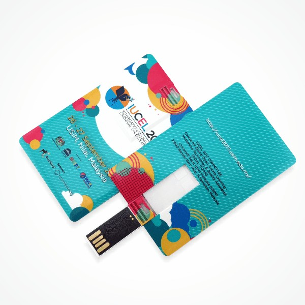Credit Card USB pendrive - Sample Print USM Nilai
