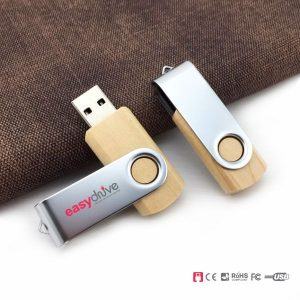 custom made maple wood USB pendrive from Easydrive Malaysia